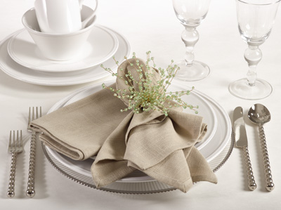Napkin - Classic - Natural collection with 1 products