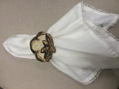 $15.00 Napkin Ring Cotton Boll