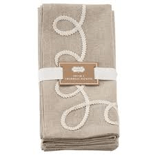 Napkin Flourish Chambrey Set of Four collection with 1 products