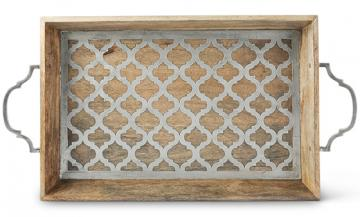 $179.50 Tray - Ogee Rectangle