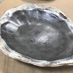 $147.50 Serving Piece Oblong Gray