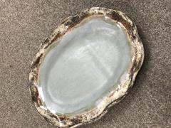 $53.00 Platter Oval Ruffled Peaceful Waters
