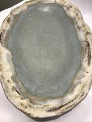 $101.50 Tray Oval w/hdls Peaceful Waters