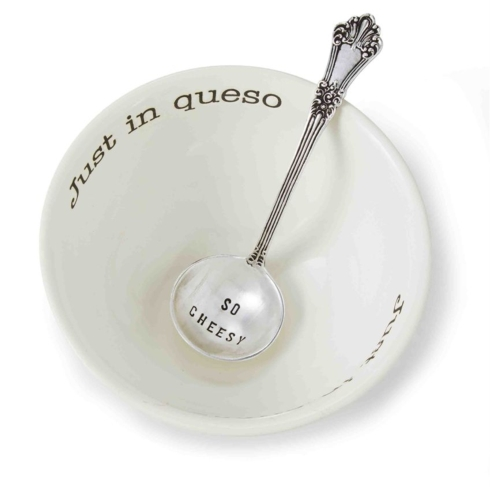 Mudpie   Just In Queso Bowl w/spoon $23.00