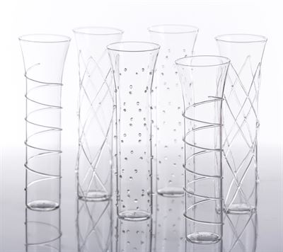 Champagne Glass - Razzle collection with 1 products