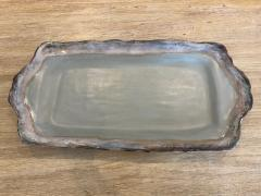 $121.00 Tray Rec w/Handles Peaceful Waters