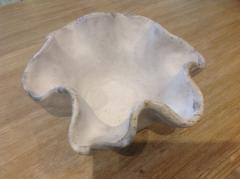 Etta B Pottery   Bowl Freeform B10R Charming White $75.00