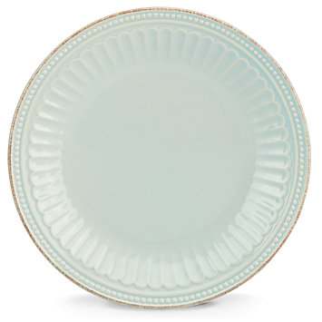 Lenox  French Perle Groove - Ice Blue Salad/Accent Plate - Ice Blue $17.00