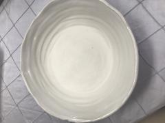 $95.00 Salad Server Bowl Simply White