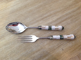 $46.00 Salad Server Set - Wellfleet