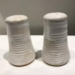 Etta B Pottery   Salt & Pepper Simply White $57.00