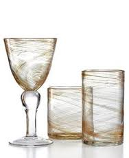$10.50 Hiball Glass - Shimmer Gold