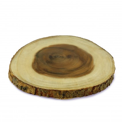 Enrico   Wood Slice Serve Board $25.00