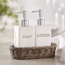 Mudpie   Lotion & Soap Caddy $32.50