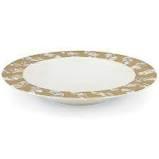 $80.00 Soup Bowl Tempio Luna Gold