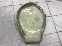 Etta B Pottery   Spoon Rest Opal Gray $24.50