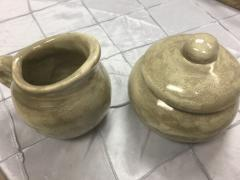 Good Earth Pottery  Truffle Sugar  $52.00