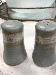 Etta B Pottery   Salt & Pepper Peaceful Waters $57.00