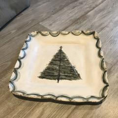 Platter Christmas Tree White collection with 1 products