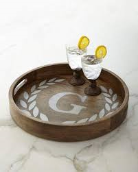 GG Collection   Tray with Initial 20