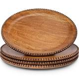 GG Collection   Charger - Wood Beaded $50.50