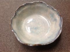 Etta B Pottery   Bowl Vegetable Opal Gray $64.00