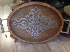 GG Collection   Tray Oval Md $179.50
