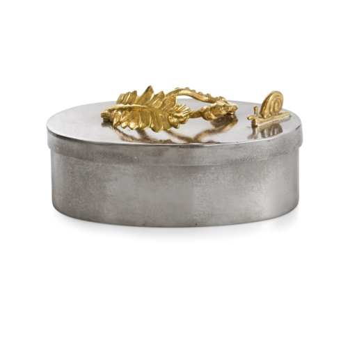 $89.00 Enchanted Garden Oval Box