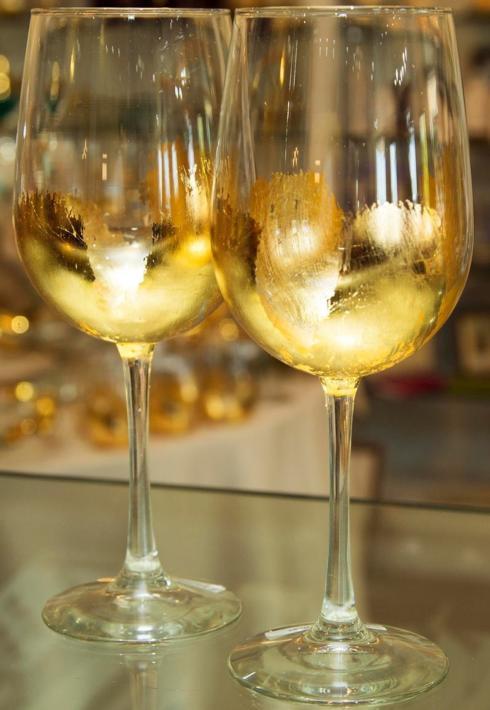 ELM Designs   Gold Leaf White Wine $25.00