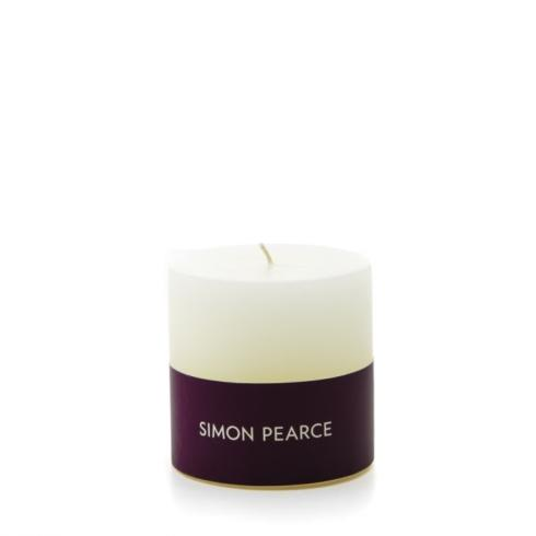 $16.00 Ivory Pillar Candle (3x3)