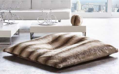 $699.00 Faux Fur Floor Pillow