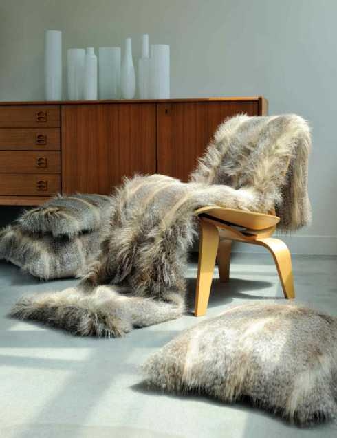 $275.00 Faux Fur Bed Runner
