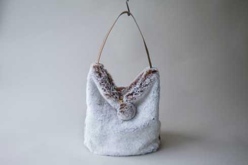 $275.00 Faux Fur Bag