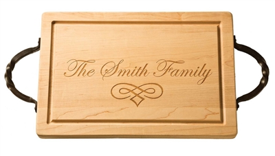 Maple Leaf at Home   Monogrammed Cutting Board  $156.00
