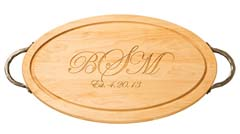 Maple Leaf at Home   Maple Cutting Board Monogrammed $156.00