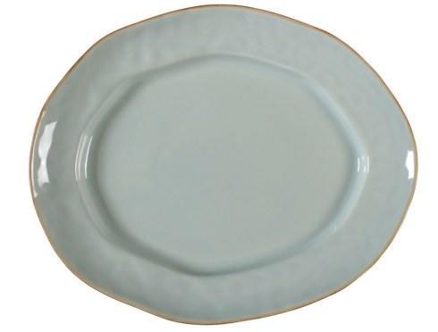 Skyros Designs   Large Oval Platter Sheer Blue  $79.00