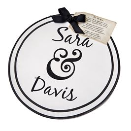 Mr & Mrs Ampersand Platter  collection with 1 products