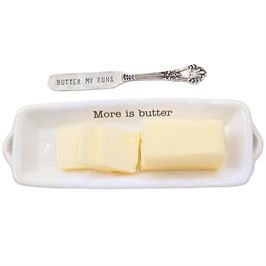 Mud Pie Thanksgiving Butter Dish  collection with 1 products