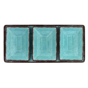 Turquoise 4 piece Tray Set  collection with 1 products