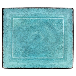 Turquoise Charger/Tray collection with 1 products