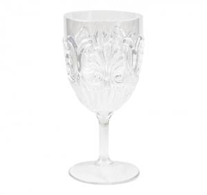 Le Cadeaux   Fleur Wine Glasses $9.95