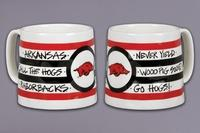 $18.95 Arkansas Coffee Mugs