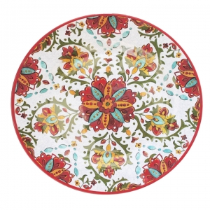 Le Cadeaux   Allegra Red 16' Family Platter  $39.95