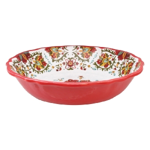 $36.95 Allegra Red Salad Bowl