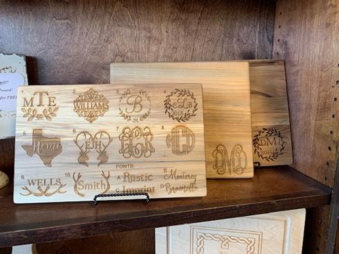 Large Wood Custom Cutting Board  collection with 1 products