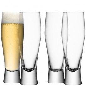 LSA International   Lager Beer Glasses Set of 4  $85.00