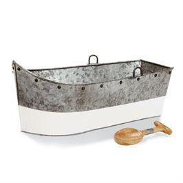 Mudpie   Tin Boat Beverage Tub $52.95