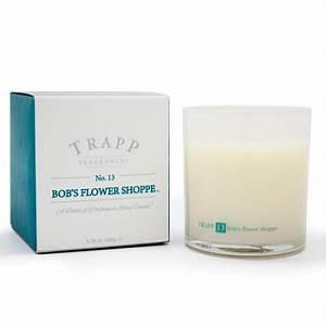 Trapp   Bob's Flower Shoppe Large Candle  $33.00