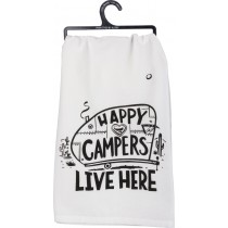 Happy Camper Dish Towel  collection with 1 products