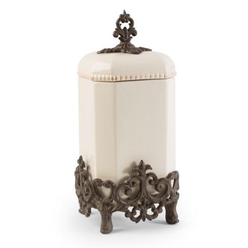 """$130.00 15"""" H Provencial Canister"""